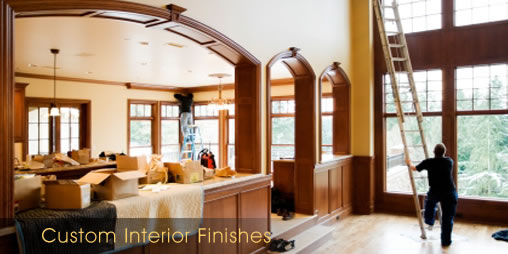 custom interior finishes